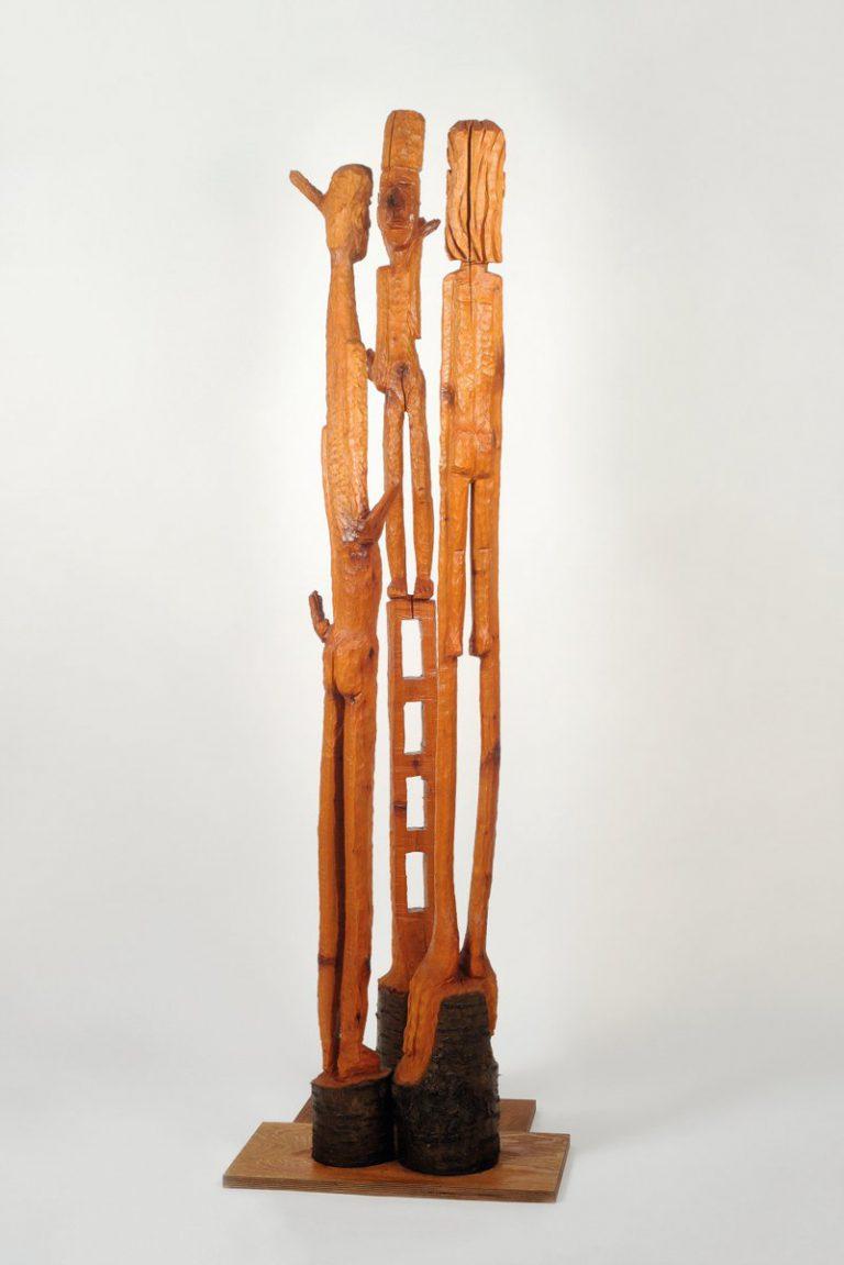 Wolfgang Ramisch Holzskulptur