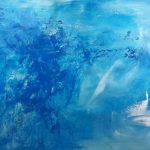 "Koki van Trotten ""Ive eaten the world´"" 2017, Acryl auf Leinwand, 56 x 90 cm"