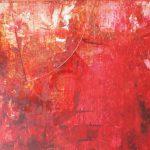 """Koki van Trotten """"Nicht der Himmel"""", 2017, Oel auf Leinwand, 90 x 100 cm"""