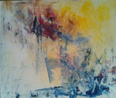 "Koki van Trotten, ""crypticer_04"", 2016, Acryl auf Leinwand, 100x120 cm"