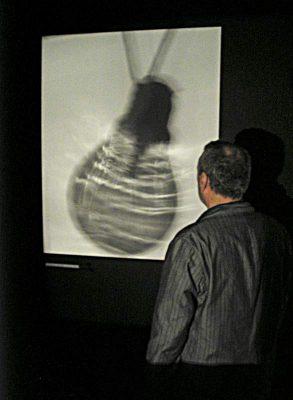 "David Baldwin, Installation at The Bally Shoe Factory, 2005, ""Plato´s Höhle"""