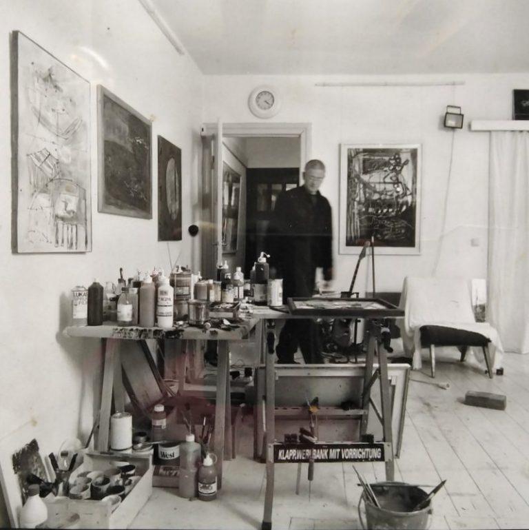 Portrait Thomas Habedank-im Atelier