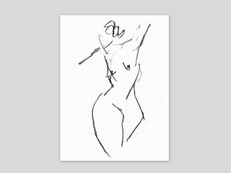 Ute-Hausfeld-Zeichnung-oT-2012-Kohle_auf_Papier-Titel1