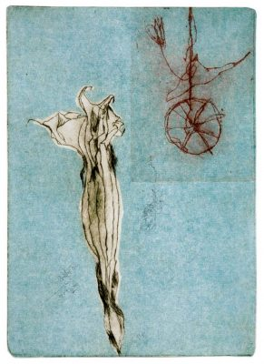 "Angelika Ludwig ""Natura"", 2014, Farbradierung, 29x21 cm"