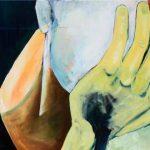 Clara Kirschbaum-In-Gedanken_2017-Acryl und Oel auf Baumwolle-Titel