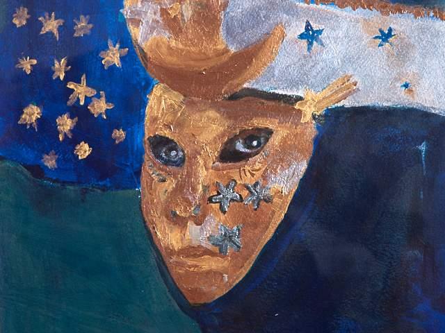 Elisabeth Luechtefeld-Masken Venedigs 3-Titel