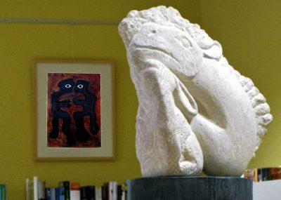 Frank Hüller, Bilder und Skulpturen- 02