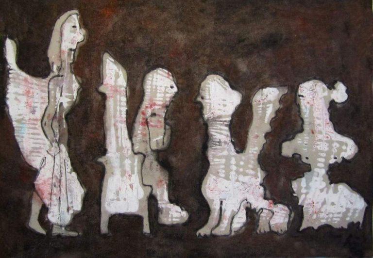 Frank Hüller, Bilder und Skulpturen - 03