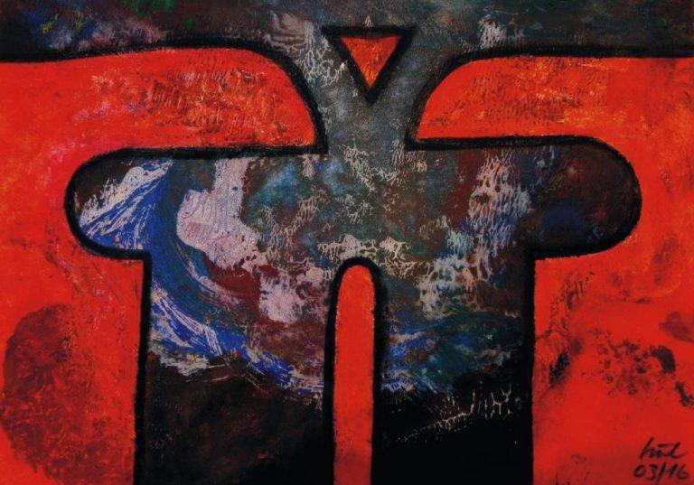 Frank Hüller, Bilder und Skulpturen - 06
