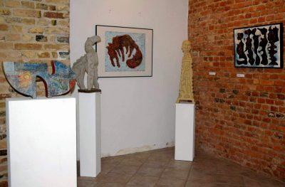 """Frank Hüller """"Skulpturen und Bilder"""", Ausstellung 2006"""