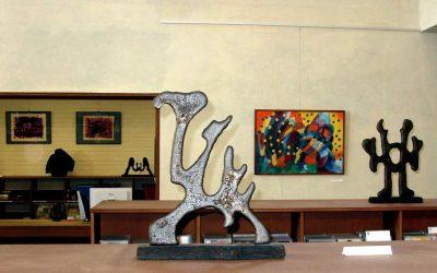 """Frank Hüller """"Skulpturen und Bilder"""", Ausstellung 2008"""