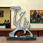 Frank Hueller-Skulpturen-Bilder_Ausstellung-2008-Titel