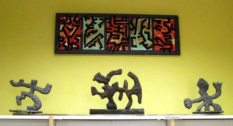 """Frank Hüller """"Skulpturen und Bilder"""" Ausstellung-2012"""