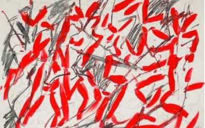 Ingrid Bertel-Angel Suite Piazzolla 2012 Graphit-TuschezeichnungTITEL