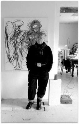 Ingrid Bertel-Portraet Atelier