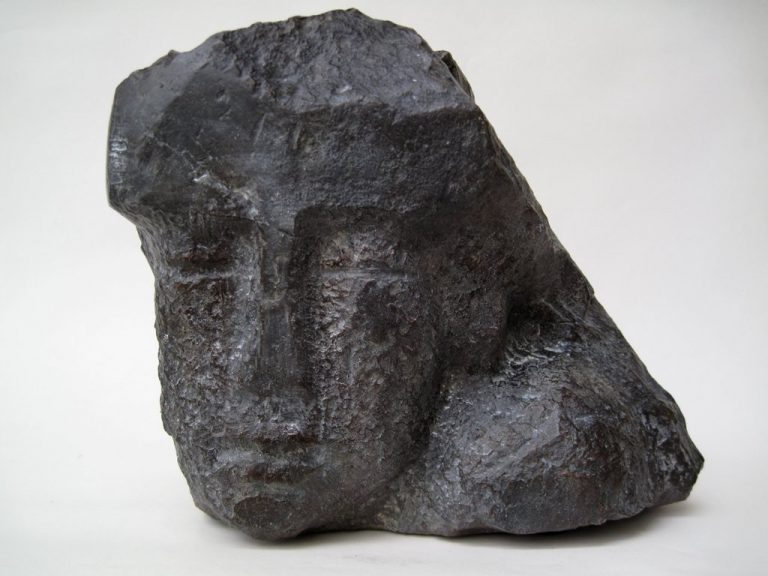 "Jutta Schölzel ""Kopf"", 2015, Bronze, 23x25x16 cm, 2.600 €"