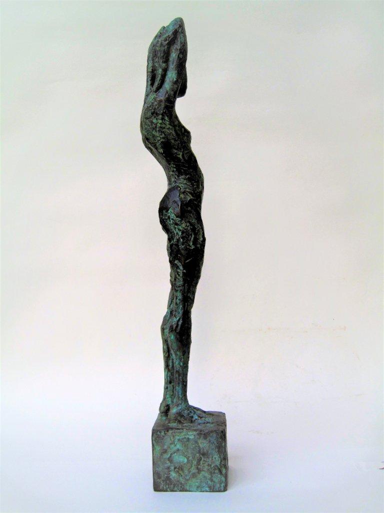 "Jutta Schölzel ""Morgen"", 2016, Bronze, 46x7x8 cm, 1.800 €"