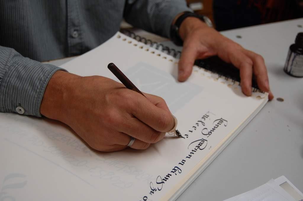 Kalligraphie mit Christoph Geyer-KA2018