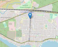 Karte Rathaus Friedrichshagen- OpenStreetMap