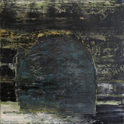 "Beatrice Falck ""Avataa"", 2014, Öl auf Leinwand, 80x80 cm"