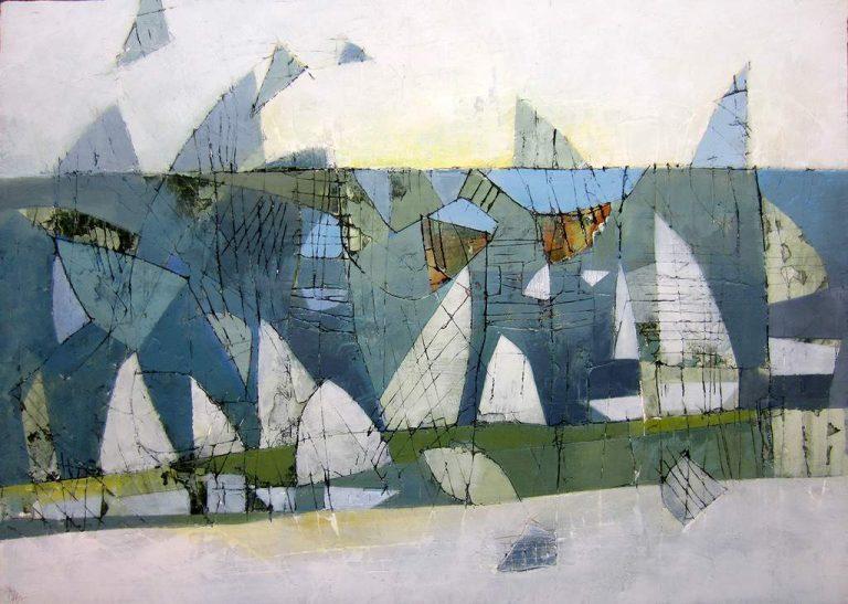 Dagmar Hintzmann-Tag am Wasser-50 x 70 cm