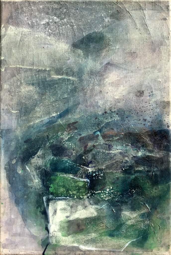 Sabine Schuldt-Von David bis Goliath 14-2017-Acryl auf Leinwand-70x 45cm-IMG_0064