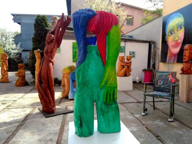 Wolfgang Ramisch - Atelierhof - Skulpturen 1