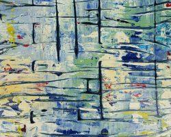 Antje Burr-Brandung in Vier Teilen-25x25-Auktion2019