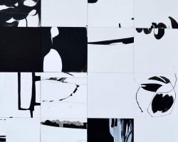 Dominique Kleiner-2-Lebenspuzzle-Acryl auf Kapaplatten-Auktion2019