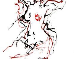 Ingrid Bertel-1-Akt-Federzeichnung-Auktion2019
