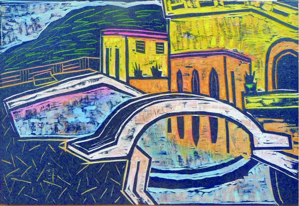 Peter Rensch-Verlassener Swimmingpool-Auktion2020