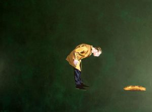 "Henry Korwald ""beyond the small abyss"", 2020, Öl auf Leinwand, 160x120 cm, 1.800,00 €"