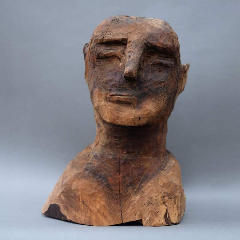 "Frank Odening ""Toscarini"" (2021)   Walnuss, 37 cm hoch"