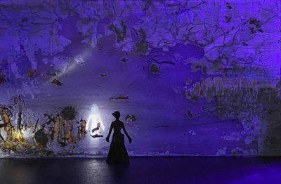 """Verena Hemmerlein """"In profundis"""" (2020), Fotografie eines Bühnenmodells"""